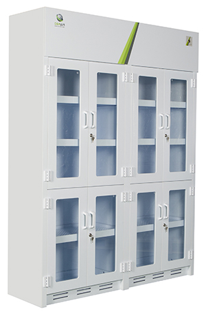 Polypropylene Lab Storage Cabinet TOPAIR LAB SOLUTIONS - Lab storage cabinets