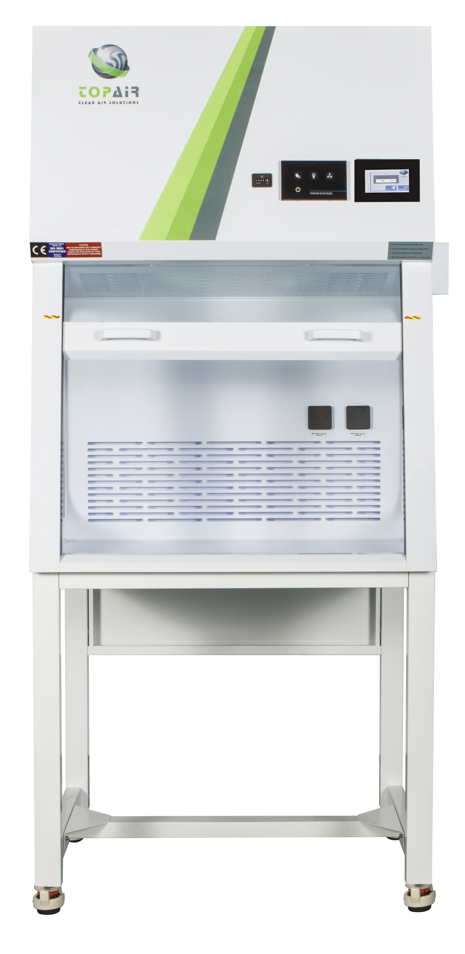 Polypropylene Ductless Fume Hood With Vav Topair Lab