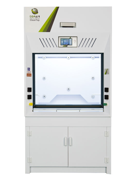 active fume hood front